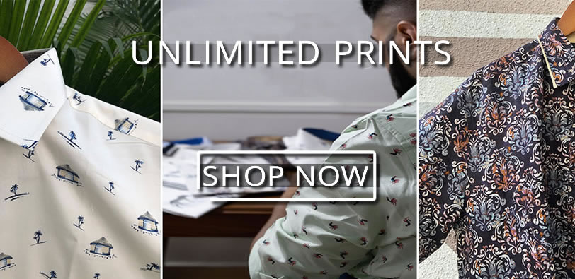 Unlimited prints in Party Shirts