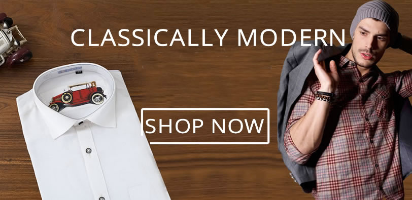 Casually Modern Slim Shirts
