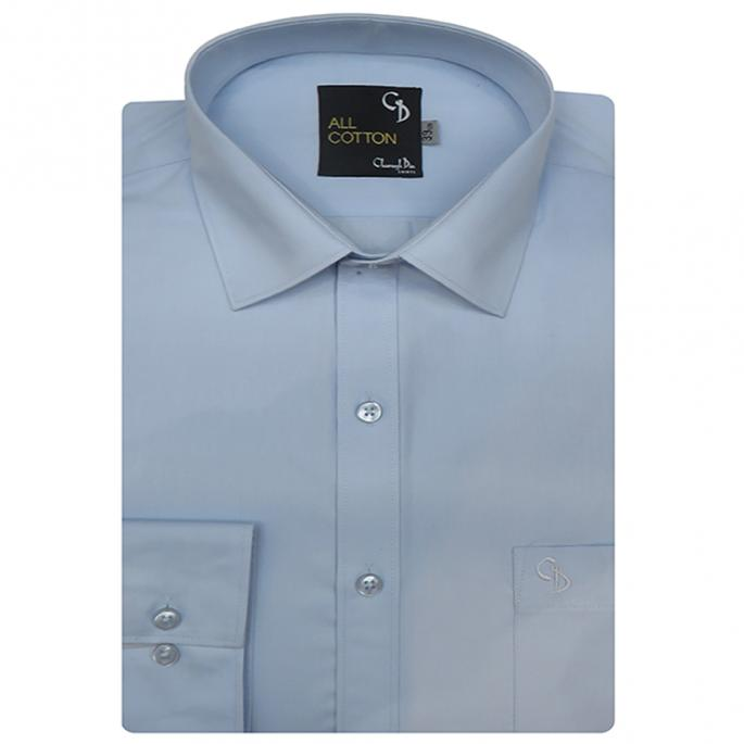 Plain LIGHT BLUE Shirt : Business