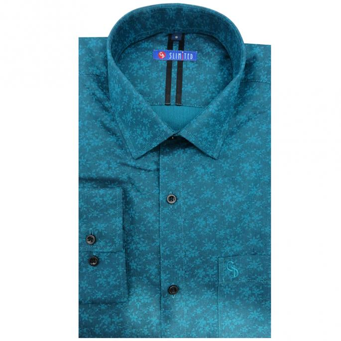 This shirt is designed with eye catching floral print,it has a single convertible cuff,When you're out on the weekend this is the ideal shirt to have