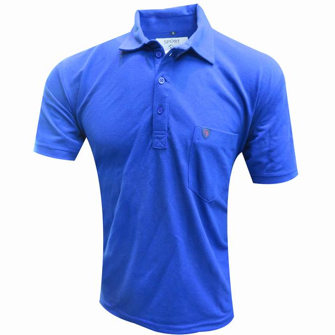 Look cool with this amazingly comfortable polo t shirt.This super-awesome t shirt is in regular fit and has short sleeves.Can be worn with jeans.