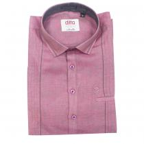 LINEN KURTI PURPLE Shirt : Ditto