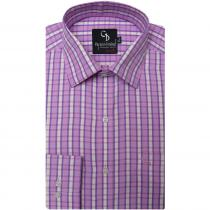Check MAUVE Shirt : Business