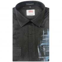 HAND PAINTED BLACK Shirt : Ditto