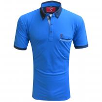 Combination AQUA BLUE T-Shirt : Regular