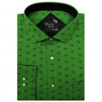 Print GREEN Shirt : Party