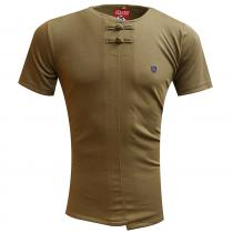 Plain BROWN T-Shirt : Itutu (Slim Fit)