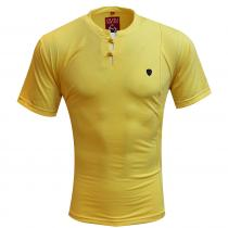 Plain LEMON T-Shirt : Itutu (Slim Fit)