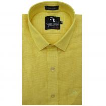 Check YELLOW Shirt : Business