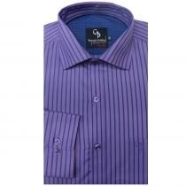 Stripe PURPLE Shirt : Business