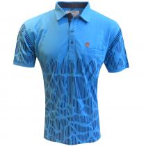 Print BLUE T-Shirt : Regular