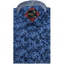Print NAVY BLUE Shirt : Party