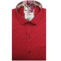 Print RED Shirt : Ditto