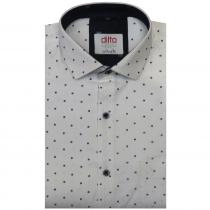 Print WHITE Shirt : Ditto