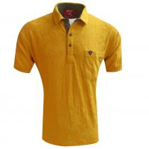 Self Design MUSTARD T-Shirt : Regular