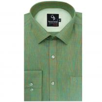 Stripe Green Shirt : Business