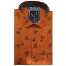 Print ORANGE Shirt : Party