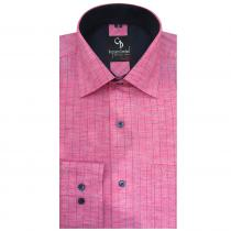 Check PINK Shirt : Business
