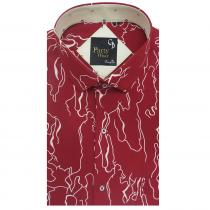 Print MAROON Shirt : Party