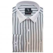 Stripe BLACK Shirt : Business