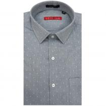 Print DARK GREY Shirt : Slim