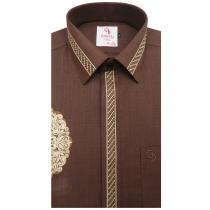 Combination BROWN Shirt : Party