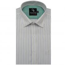 Stripe DARK GREEN Shirt : Business