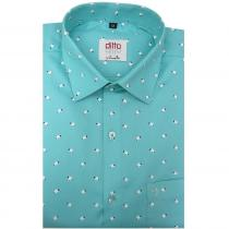 Print GREEN Shirt : Ditto