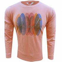 Print PEACH T-Shirt : Itutu (Slim Fit)